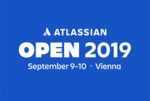Banner of Atlassian OPEN 2019 in Vienna